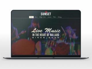 Sunset Tavern Website