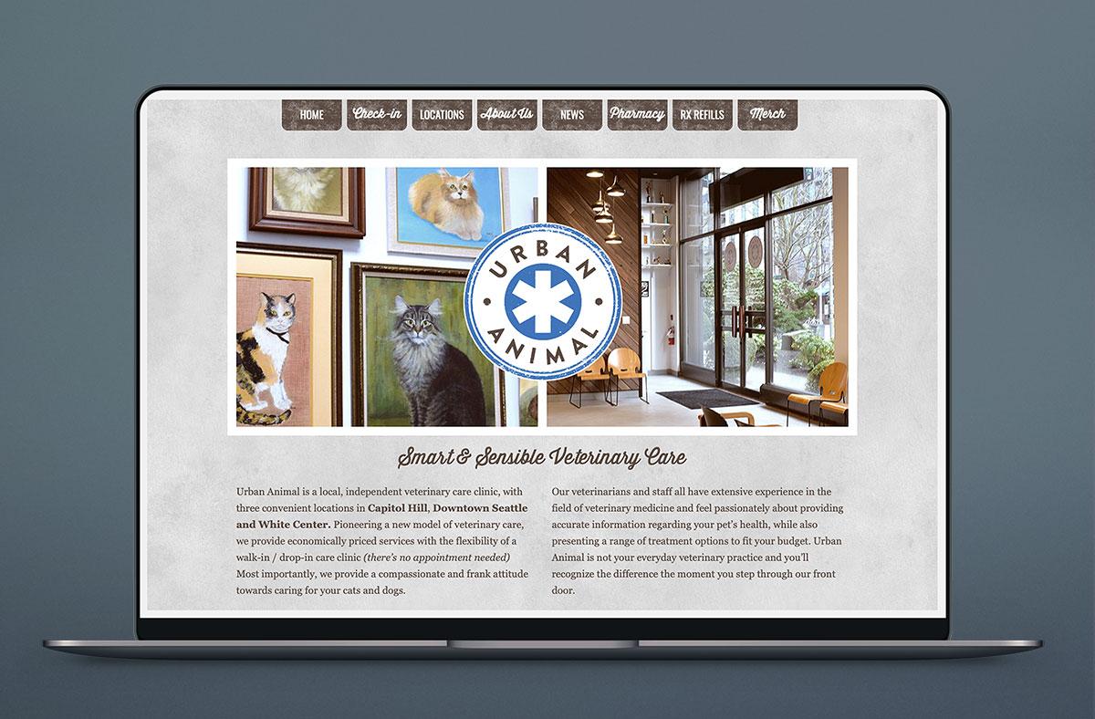 Urban Animal Logo Seattle Graphic Design Web Design