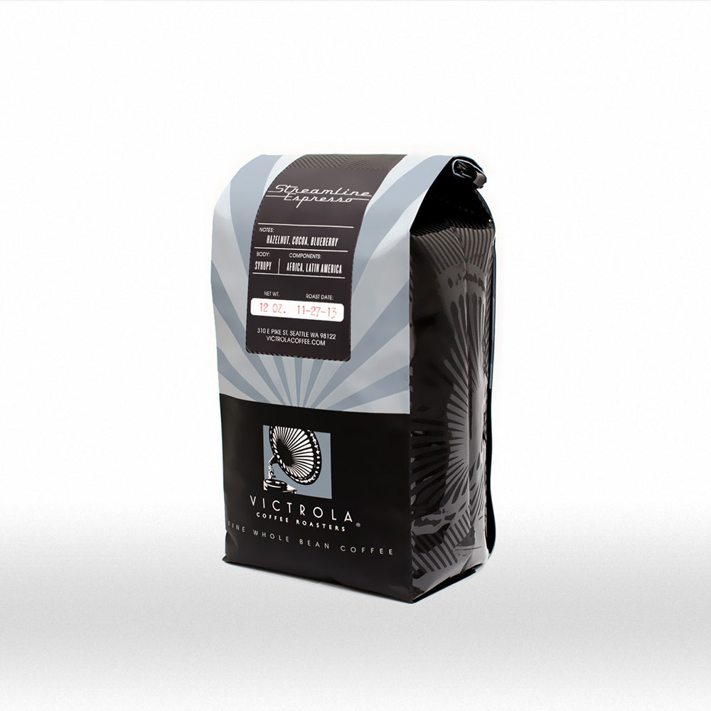 Victrola Coffee Packaging Seattle Graphic Design Web Design