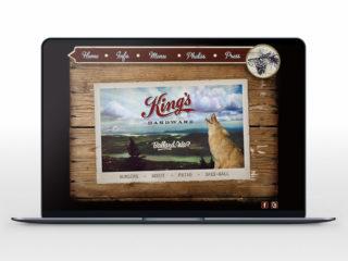 King's Hardware Website